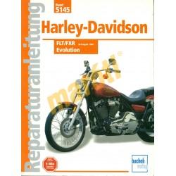 Harley Davidson FLT FXR Evolution (Javítási kézikönyv)