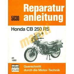 Honda CB 250 RS (Javítási kézikönyv)