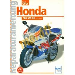 Honda CBR 900 RR (Javítási kézikönyv)