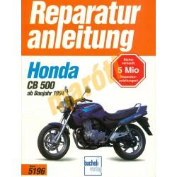 Honda CB 500 (Javítási kézikönyv)