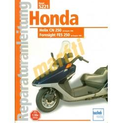 Honda Helix CN 250, Foresight FES 250 (Javítási kézikönyv)