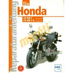 Honda CB 600 F CB 600 F II (Javítási kézikönyv)