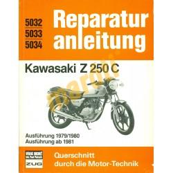 Kawasaki Z 250 C (Javítási kézikönyv)