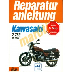 Kawasaki Z 750 (Javítási kézikönyv)