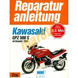 Kawasaki GPZ 500 S 1986 (Javítási kézikönyv)