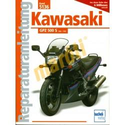 Kawasaki GPZ 500 S 1986-1993 (Javítási kézikönyv)