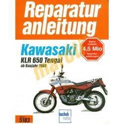 Kawasaki KLR 650 Tengai (Javítási kézikönyv)