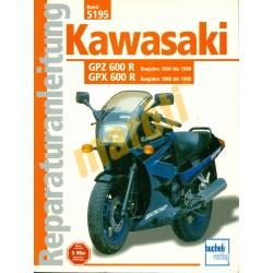 Kawasaki GPZ/GPX 600 R (Javítási kézikönyv)
