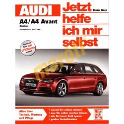 Audi A4 / A4 Avant Benzin ab Modelljahr 2007/2008 (Javítási kézikönyv)