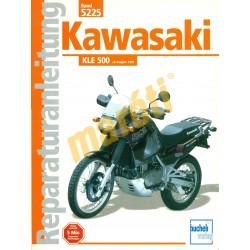 Kawasaki KLE 500 (Javítási kézikönyv)