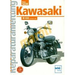 Kawasaki W 650  (Javítási kézikönyv)