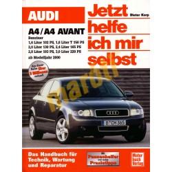Audi A4 / A4 Avant Benzin ab Modelljahr 2000 (Javítási kézikönyv)