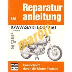 Kawasaki 500, 750 (Javítási kézikönyv)