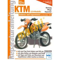 KTM LC4 Enduros und Supermotos (Javítási kézikönyv)