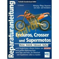 Enduros crosser und supermotos (Javítási kézikönyv)