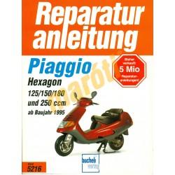 Piaggio Hexagon 125, 150, 180, 250 (Javítási kézikönyv)