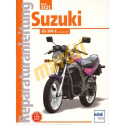 Suzuki GS 500 E 1989- (Javítási kézikönyv)