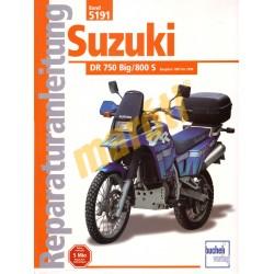 Suzuki DR 750 Big / 800 S 1987-1999 (Javítási kézikönyv)