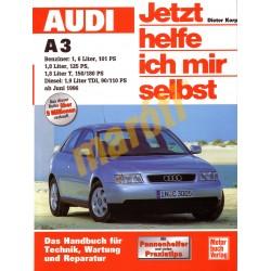 Audi A3 Benzin Diesel ab Juni 1996 (Javítási kézikönyv)