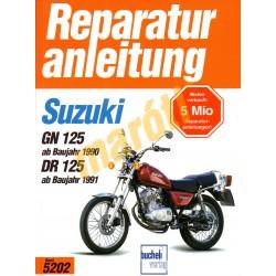 Suzuki GN 125, DR 125 1991- (Javítási kézikönyv)