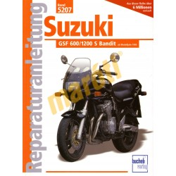 Suzuki GSF 600 / 1200 S Bandit 1995- (Javítási kézikönyv)