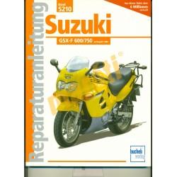 Suzuki GSX-F 600/750 1988- (Javítási kézikönyv)