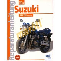 Suzuki GSX 750 1997- (Javítási kézikönyv)