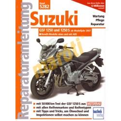 Suzuki GSF 1250 und 1250 S Bandit 2007- (Javítási kézikönyv)