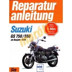 Suzuki GS 750 / 550 1976 (Javítási kézikönyv)
