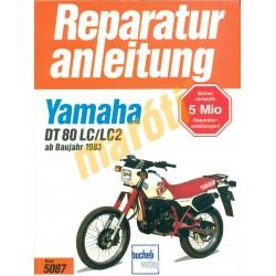 Yamaha DT 80 LC/LC2 (Javítási kézikönyv)