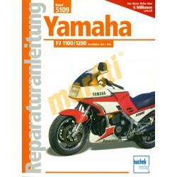 Yamaha FJ 1100, 1200, 1984-1996 (Javítási kézikönyv)