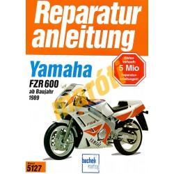Yamaha FZR 600 1989- (Javítási kézikönyv)