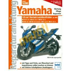 Yamaha 125 cm3 Viertakt-Leichtkraftrader (Javítási kézikönyv)