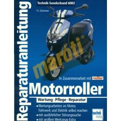 Motorroller Wartung Pflege Reparatur (Javítási kézikönyv)