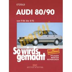 Audi 80 und 90 1986-91 (Javítási kézikönyv)