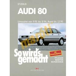 Audi 80 1991-95 (Javítási kézikönyv)