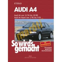 Audi A4 1994-2001 (Javítási kézikönyv)