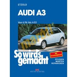 Audi A3 1996-2003 (Javítási kézikönyv)
