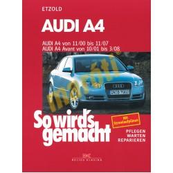 Audi A4 2000-2007, A4 Avant 2001-2008 (Javítási kézikönyv)
