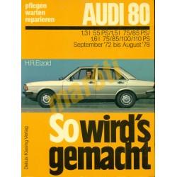 Audi 80 1972-78 (Javítási kézikönyv)