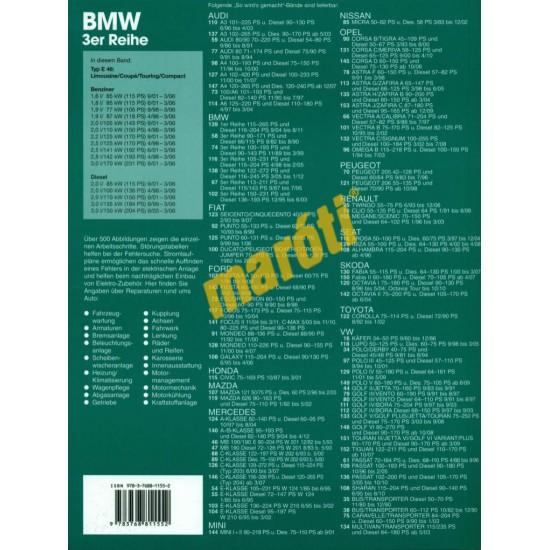 BMW 3er E46 1998-2006 (Javítási kézikönyv)