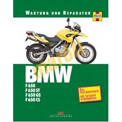BMW F 650,650ST,650GS,650CS (Javítási könyv)