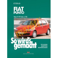 Fiat Punto 1999-2006 (Javítási kézikönyv)