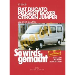 Fiat Ducato, Peugeot Boxer, Citroen Jumper 1982-2002 (Javítási kézikönyv)