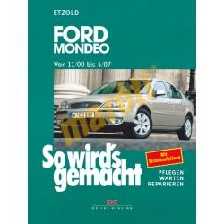 Ford Mondeo 2000-2007 (Javítási kézikönyv)