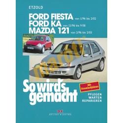 Ford Fiesta/Ka und Mazda 121 1996- (Javítási kézikönyv)