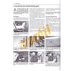 Honda 125/150 cm Viertakt-Roller (Javítási könyv)
