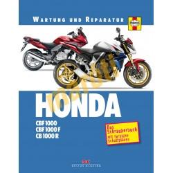 Honda CBF 1000 / CBF 1000 F / CB 1000 R (Javítási könyv)