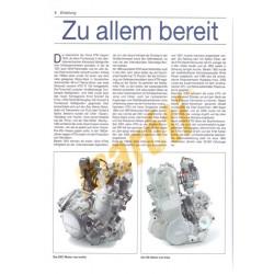 KTM Sport-Enduros und Crossmaschinen (Javítási könyv)