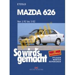 Mazda 626 1992-2002 (Javítási kézikönyv)